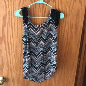 tank top multi color